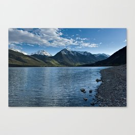 Sunset over Twin Lakes Canvas Print