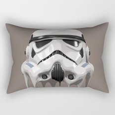 Stormtrooper Melting Rectangular Pillow
