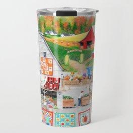 Autumn Quilts Travel Mug