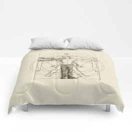Vitruvian Alchemist Comforters