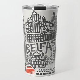 Belfast Cityscape Travel Mug