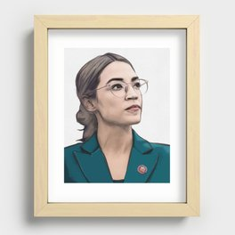 A.O.C. Recessed Framed Print