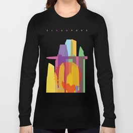 Shapes of Singapore. Long Sleeve T-shirt