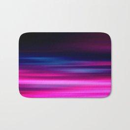 purple sunset II Bath Mat