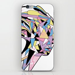 She Moves In Mysterious Ways iPhone Skin