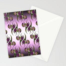 Oriental Tattoo Pattern Version Stationery Cards