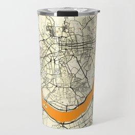 Seoul Map Moon Travel Mug