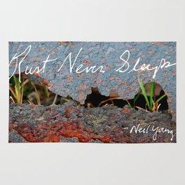 Rust Never Sleeps Rug