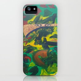 A poets mind iPhone Case