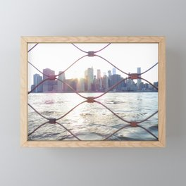 Fenced Away from the World Framed Mini Art Print