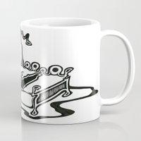 dessert Mugs featuring Dessert by Abstractink82