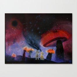 Wanderers 003 Canvas Print