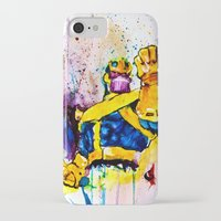 thanos iPhone & iPod Cases featuring Thanos by hbCreative