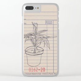 sales slip plant #2 Clear iPhone Case