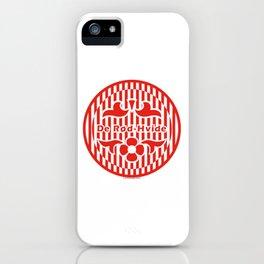 Denmark De Rød-Hvide (The Red-White) ~Group C~ iPhone Case