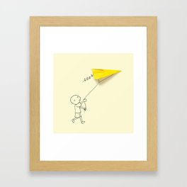 Embraer - Kite Framed Art Print
