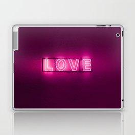 Love Neon Sign Laptop & iPad Skin