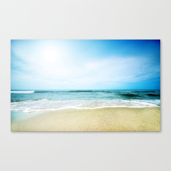 Paradise Ocean waves Canvas Print
