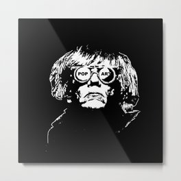 POP - ART - KING Metal Print
