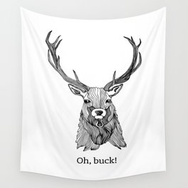Oh, Buck! Wall Tapestry