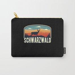 Schwarzwald Wild Hirsch Retro Schwaben Carry-All Pouch