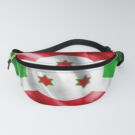 Burundi Flag Fanny Pack