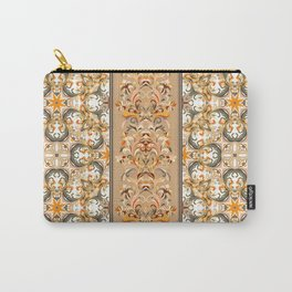 Boho Floral Fantasy Pattern Carry-All Pouch