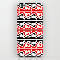 maori iPhone & iPod Skins featuring  Maori Kowhaiwhai Traditional Pattern  by mailboxdisco