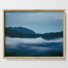 Snowdonia Cloud Inversion (Summer 2019) Serving Tray