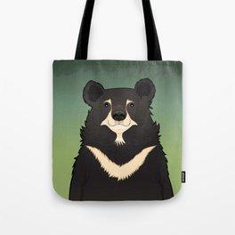 Jasper the moon bear Tote Bag