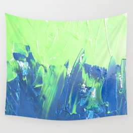 Blue & Green, No. 2 Wall Tapestry