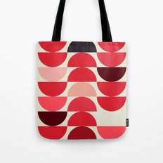 Red Bowls Tote Bag