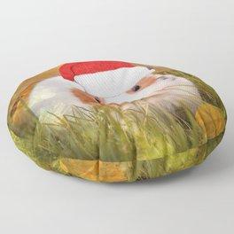 Cute Christmas Guinea Pig Floor Pillow