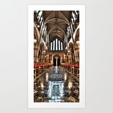 Christ Church Cathedral HDR Dublin Art Print