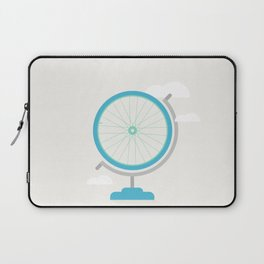 Bike Globe Laptop Sleeve