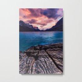 St Mary Lake – Glacier National Park, Montana, USA Metal Print