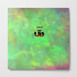 The Lid Metal Print