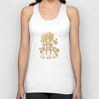 dangan ronpa Tank Tops featuring Sunflowers by bitterkiwi