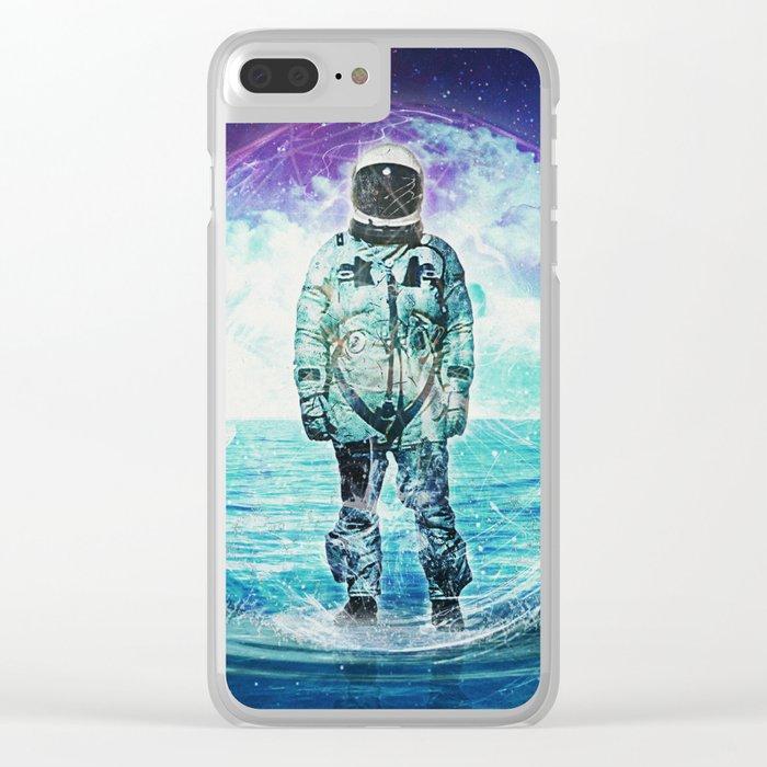 In high sea Clear iPhone Case