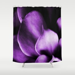 Succulent Leaves In Ultraviolet Color #decor #society6 #homedecor Shower Curtain
