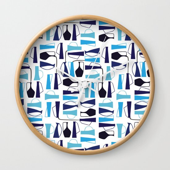 pouring pots Wall Clock