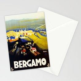 1920s Bergamo Italy travel Stationery Cards