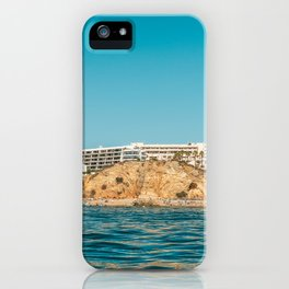 People On Lagos Beach Of Algarve In Portugal, Travel Photo, Large Printable Photography, Ocean Wall iPhone Case