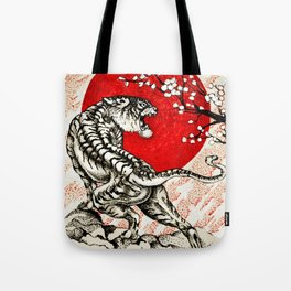 Japan Tiger Tote Bag