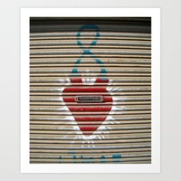 Cartas en el corazón Art Print