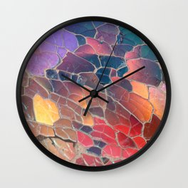 Shattered Prism Wall Clock