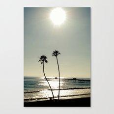 San Clemente Sunset Canvas Print