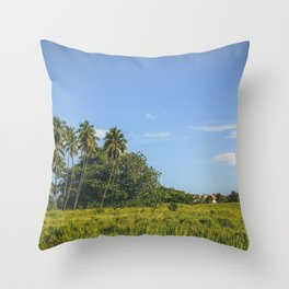 Rincon, Puerto Rico Throw Pillow