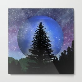 Neptune Forest Metal Print