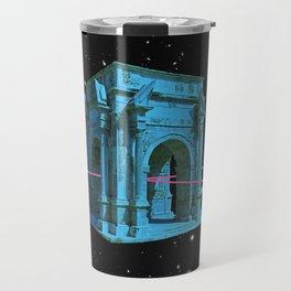 time travel Travel Mug